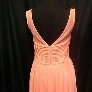 David's Bridal Dresses - David's Bridal Orange/Peach Short Dress
